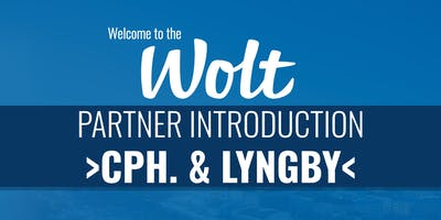 Wolt Partner Intro - >Copenhagen<