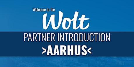 Wolt Partner Intro - >Aarhus< tickets