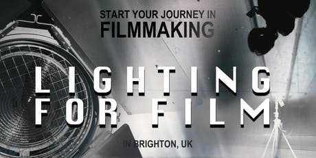 "Interview and Film lighting ""Intro Filmmaking Series"" workshop tickets"