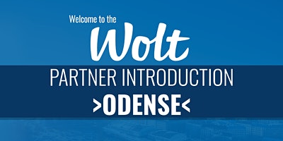 Wolt Partner Intro - >Odense<