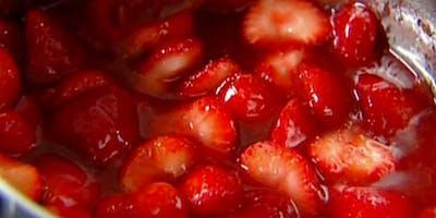 Homemade Strawberry Preserves Class