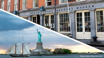 """South Street Seaport Museum's """"Pioneer"""" Sail"""