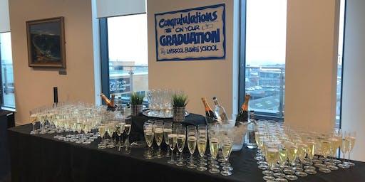 Toast to your success - Liverpool Business School graduation celebration