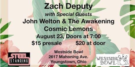 Zach Deputy tickets