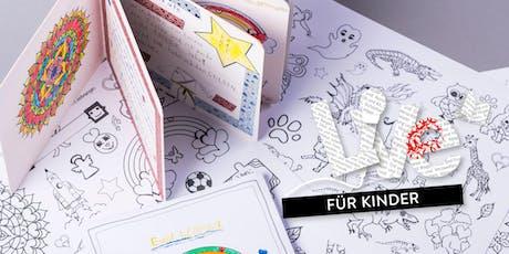 FÜR KINDER: Seitenbunt - gestalte dein eigenes Buch Tickets
