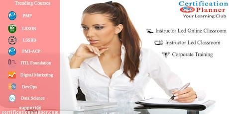 PMI Agile Certified Practitioner (PMI-ACP) 3 Days Classroom in Ciudad de México tickets