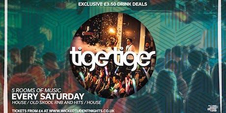 Saturdays at Tiger Tiger tickets