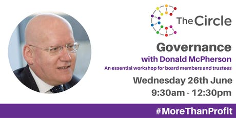 Governance Workshop with Donald McPherson tickets