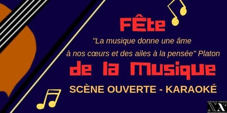 Scène ouverte - Fête de la musique billets
