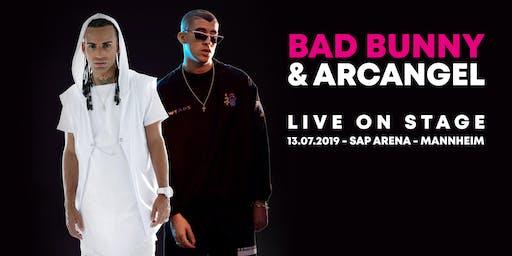 Reggaeton Festival mit Headliner Bad Bunny & Arcangel