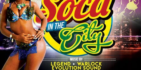 SOCA IN THE CITY tickets