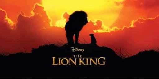 Fundraiser - The new 'Lion King' movie