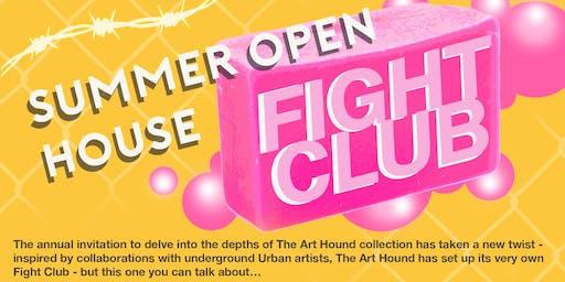 Art Hound Open House - Fight Club! Live Art Battle & Exhibition
