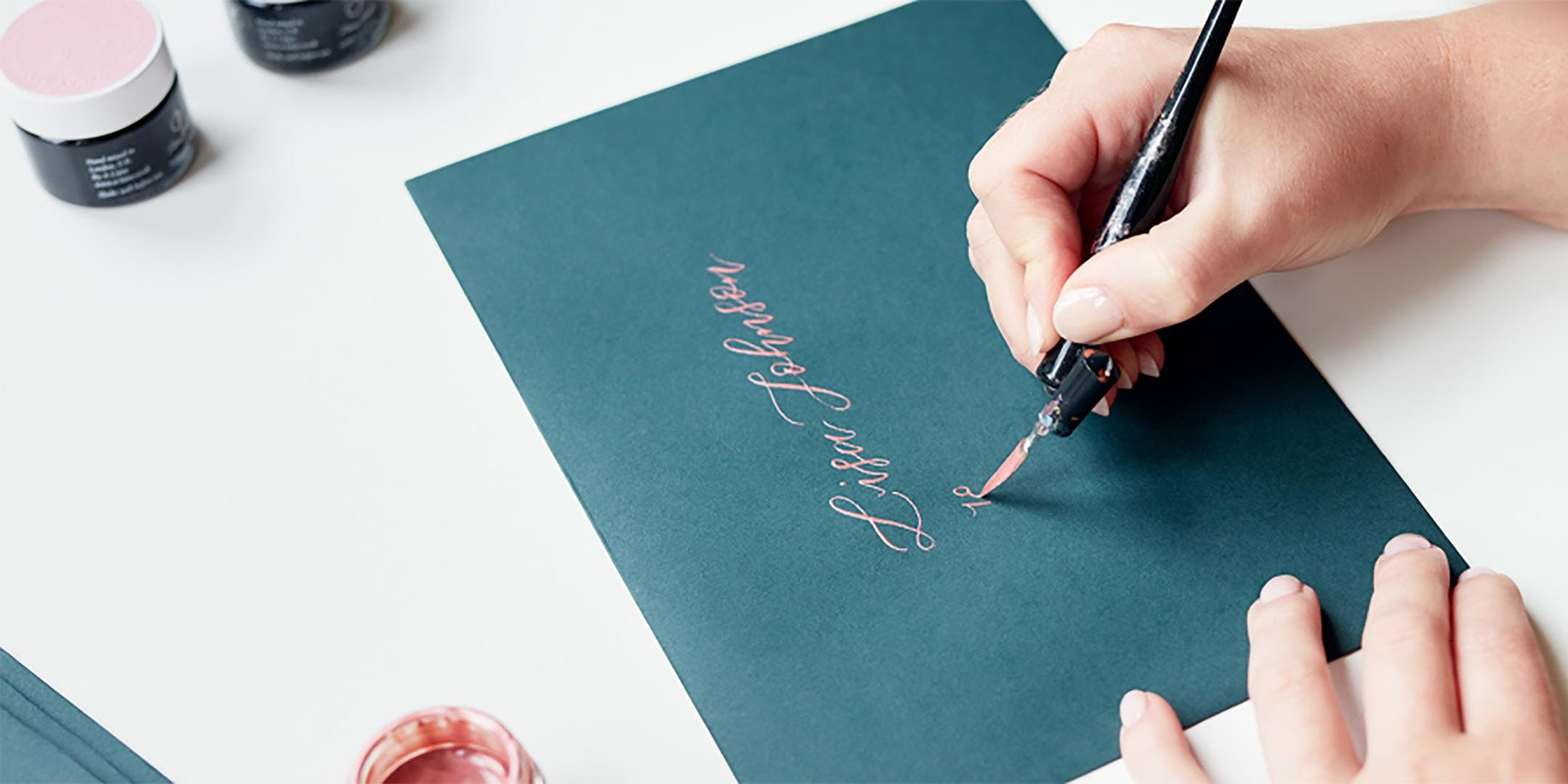 The Art of Letter Writing  - Calligraphy Workshop