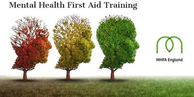 MHFA Adult 2-day Mental Health First Aider course