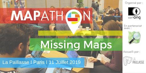 Mapathon Missing Maps Paris @ La Paillasse