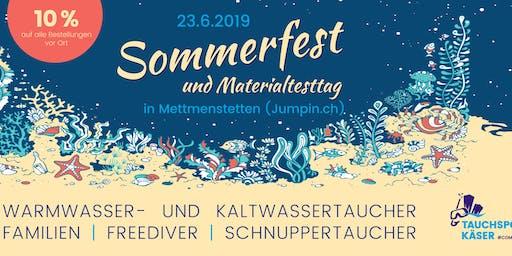 SOMMERFEST & MATERIALTESTTAG 23.06.2019