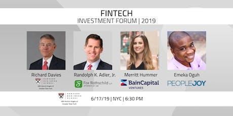 Gotham Venture Monitor: FinTech Investment Forum tickets