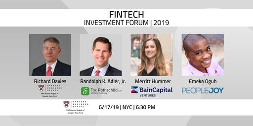 Gotham Venture Monitor: FinTech Investment Forum