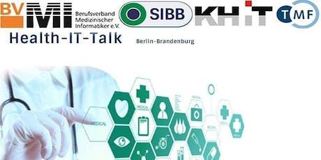 Health-IT-Talk: Künstliche Intelligenz – und wer haftet? Tickets