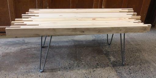 Make and Take Pallet Table Workshop