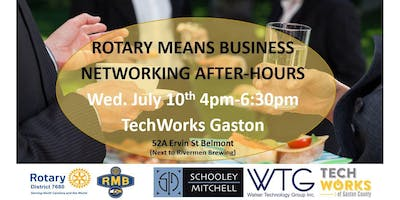 Rotary Means Business (District #7680) Network After-Hours July 10th