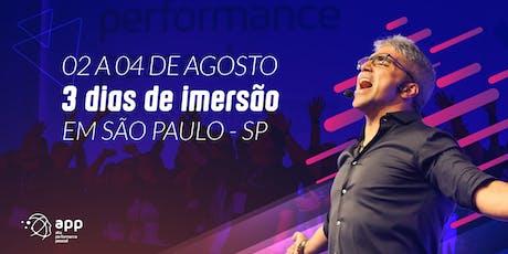 APP - Alta Performance Pessoal | 02 a 04 de agosto de 2019 ingressos