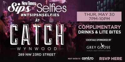 New Times Sips N Selfies at Catch Wynwood
