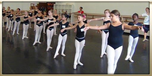 New Prospect Baptist Church Princesses Ballet Dance Clinic