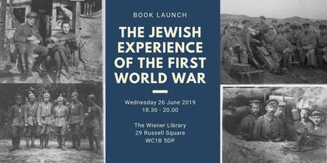 Book Launch: The Jewish Experience of the First World War tickets