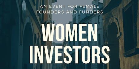 Women Investors: Building the Future tickets