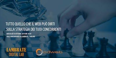 Tutto quello che il web può dirti  sulla strategia dei tuoi concorrenti