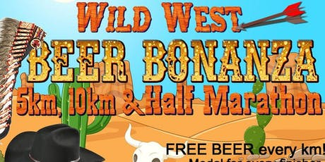 Wild West Beer Bonanza 5km, 10km & Half Marathon tickets