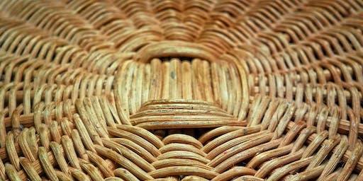 Basket Weaving: Round Woven Basket