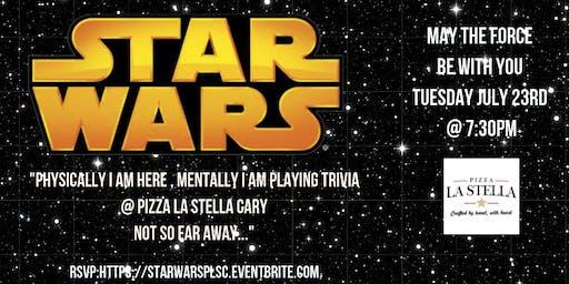 Star Wars Trivia at Pizza La Stella Cary