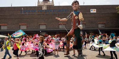 15. Tilbury walk to join the carnival and finale at Tilbury Cruise Terminal