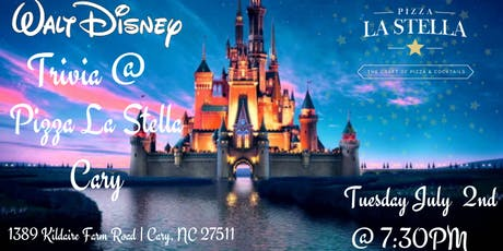 Disney Movie Trivia at Pizza La Stella Cary  tickets