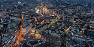 Milano Skyline in Parco Sempione e Degustazione Vino Ar...