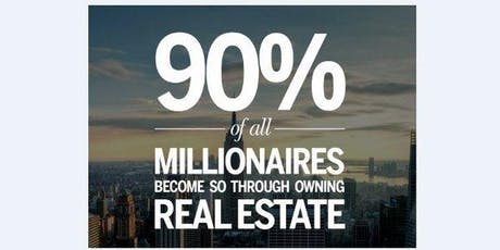 FREE: TOP Millionaire Property Investor Investing Secrets Revealed tickets