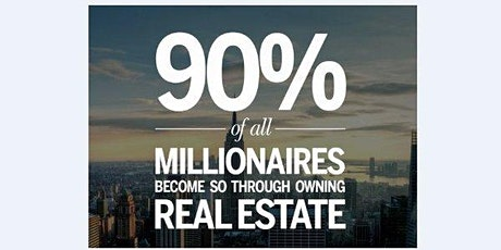 FREE: Why 90% Of The World Millionaires Started With Property Investing?  tickets