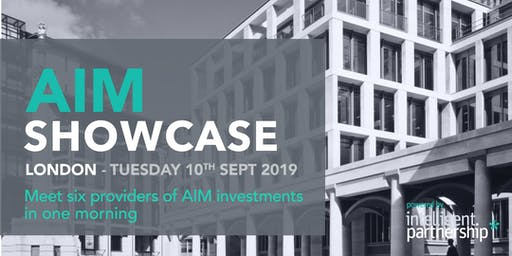 AIM Showcase for financial advisers and wealth managers | London