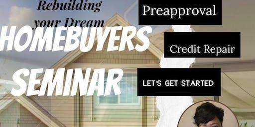 Rebuilding your Dream - Home Buyers Seminar