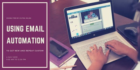 Using email automation to get new and repeat business tickets