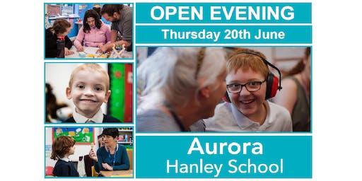 Aurora Hanley School Open Evening - 20th June 2019