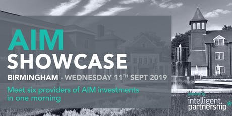 AIM Showcase for financial advisers and wealth managers | Birmingham tickets