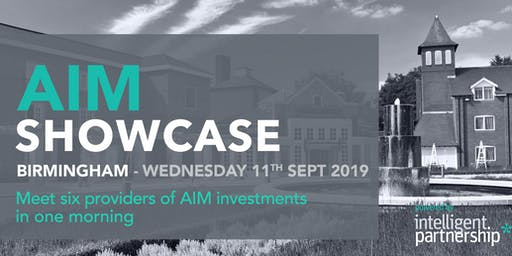 AIM Showcase for financial advisers and wealth managers | Birmingham