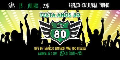 Hits 80 - Edição Especial ingressos
