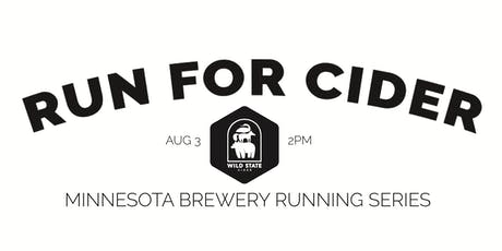 Cider Run -  Wild State Cider | Part of the 2019 MN Brewery Running Series tickets