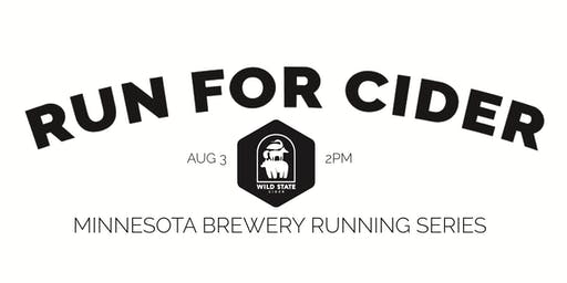 Cider Run -  Wild State Cider | Part of the 2019 MN Brewery Running Series