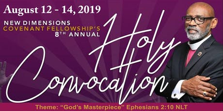 NDCF HOLY CONVOCATION 2019 tickets